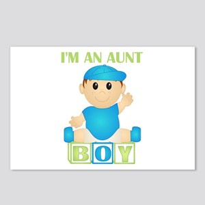 I'm An Aunt (PB:blk) Postcards (Package of 8)