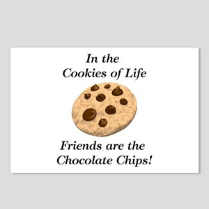 Chocolate Chips Postcards (Package of 8)