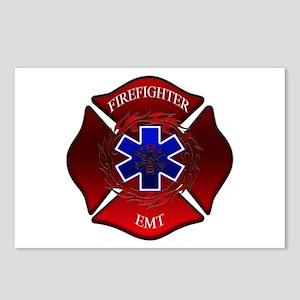 FIREFIGHTER-EMT Postcards (Package of 8)
