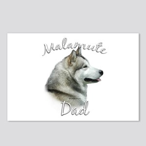 Malamute Dad2 Postcards (Package of 8)