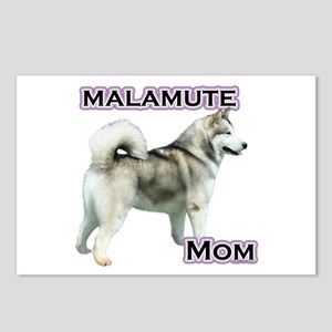 Malamute Mom4 Postcards (Package of 8)