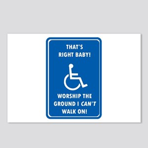 Worship The Ground I Can't Walk On Postcards (Pack