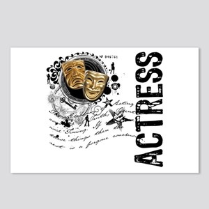 Actress Alchemy Collage Postcards (Package of 8)