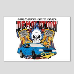 Demolition Derby Postcards (Package of 8)