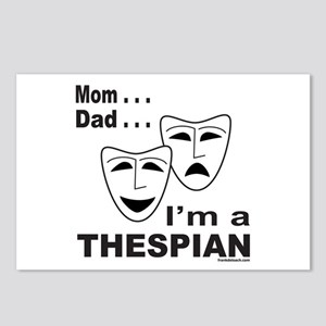 ACTOR/ACTRESS/THESPIAN Postcards (Package of 8)
