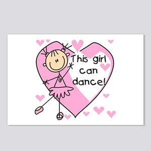 This Girl Can Dance Postcards (Package of 8)