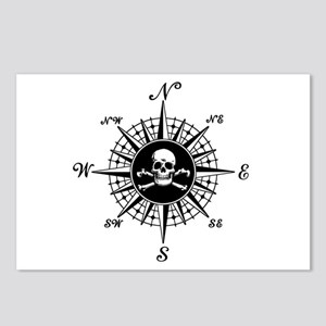 Compass Rose II Postcards (Package of 8)
