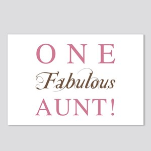 One Fabulous Aunt Postcards (Package of 8)