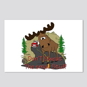 Moose humor Postcards (Package of 8)