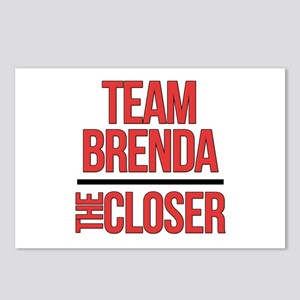 Team Brenda The Closer Postcards (Package of 8)