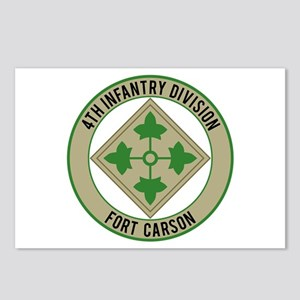 4th Infantry post Postcards (Package of 8)