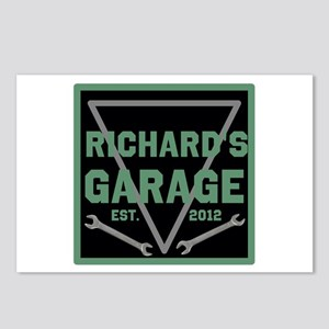 Personalized Garage Postcards (Package of 8)