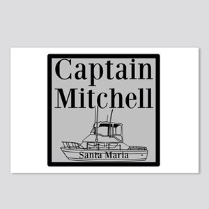 Personalized Captain Postcards (Package of 8)