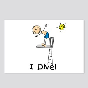 Boy I Dive Postcards (Package of 8)