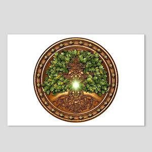 Sacred Celtic Trees - Oak Postcards (Package of 8)