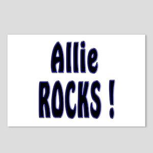 Allie Rocks ! Postcards (Package of 8)