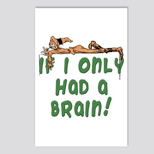 Scarecrow If I Only Had a Brain Postcards (Package