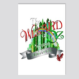 Wizard of OZ 75th Anniver Postcards (Package of 8)