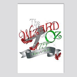 75th Anniversary Wizard of Oz Red Shoes Postcards