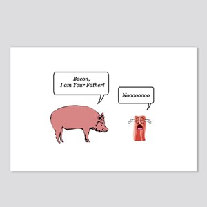 Bacon, I am Your Farther Postcards (Package of 8)