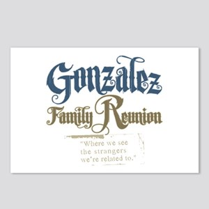 Gonzalez Family Reunion Postcards (Package of 8)