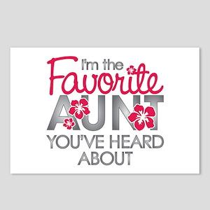 Favorite Aunt Postcards (Package of 8)