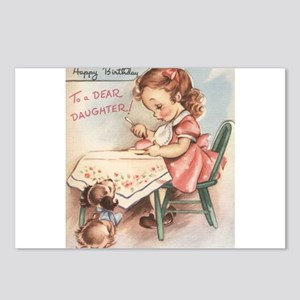 Happy Birthday Daughter Postcards (Package of 8)