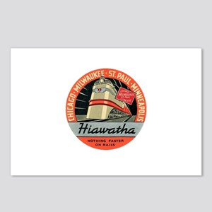 Hiawatha engine design Postcards (Package of 8)