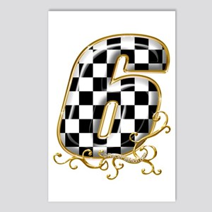 RaceFashion.com Postcards (Package of 8)