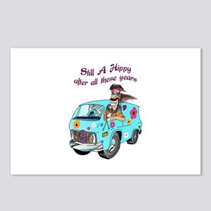 STILL A HIPPY Postcards (Package of 8)