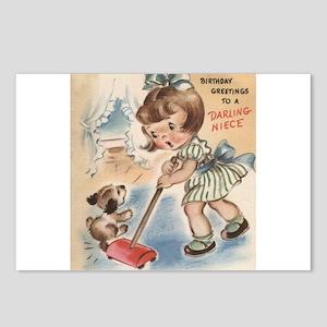 Birthday Greetings - Niece Postcards (Package of 8