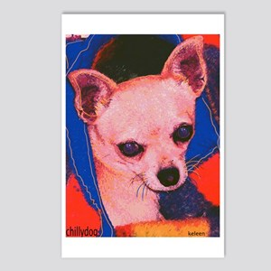 "Chihuahua ""Chillydog"" Postcards (Package of 8)"