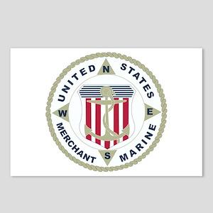 United States Merchant Marine Emblem (USMM) Postca