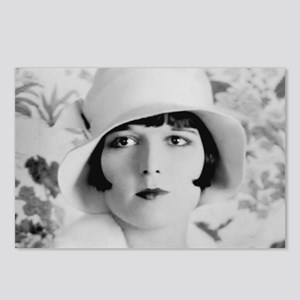 louise brooks silent movi Postcards (Package of 8)