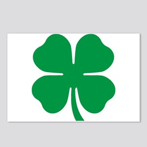 Four Leaf Clover Postcards (Package of 8)