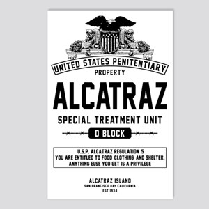 Alcatraz S.T.U. Postcards (Package of 8)