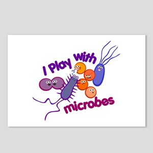 Play with Microbes Postcards (Package of 8)