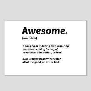 Supernatural: Vital information- Awesome Postcards