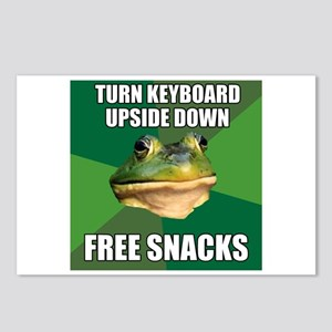 Free Snacks Postcards (Package of 8)