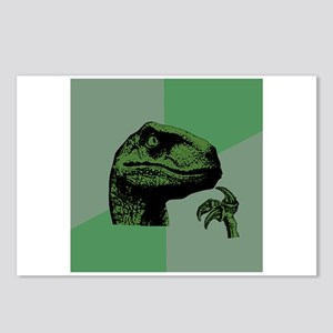 Blank Philosoraptor Postcards (Package of 8)