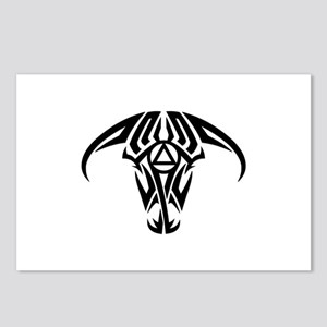 A.A. Logo Taurus B&W - Postcards (Package of 8)