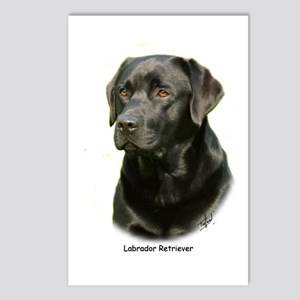 Labrador Retriever 9A054D-23a Postcards (Package o