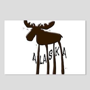 Alaska Moose Postcards (Package of 8)