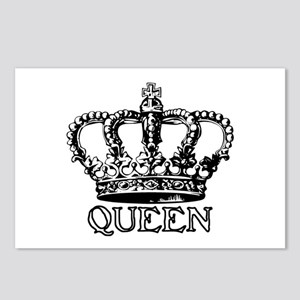 Queen Crown Postcards (Package of 8)