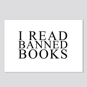 I READ BANNED BOOKS Postcards (Package of 8)