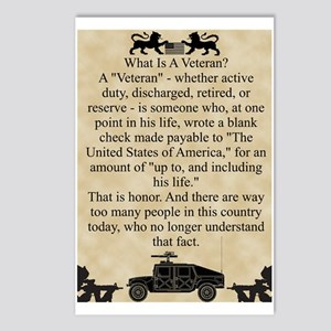 What is a Veteran Postcards (Package of 8)