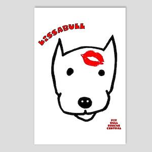 Kissabull Postcards (Package of 8)