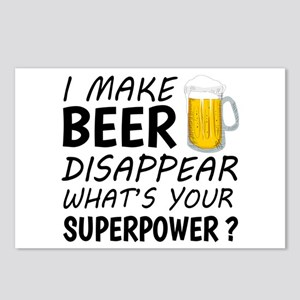 I Make Beer Disappear Postcards (Package of 8)
