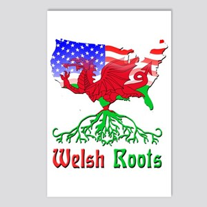 American Welsh Roots Postcards (Package of 8)