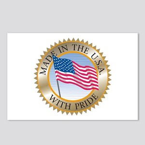 MADE IN THE USA SEAL! Postcards (Package of 8)
